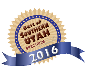 award for 2016 Best of Southern Utah